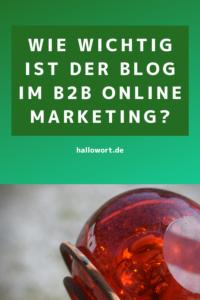 Online Marketing Blog B2B Tipps